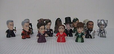 """Doctor Who Rebel Time Lord NEW Collection Mini 3"""" Vinyl Figurines (Lot of 14)"""