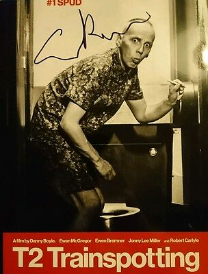 Ewen Bremner signed Trainspotting 10x8 photo AFTAL PROOF