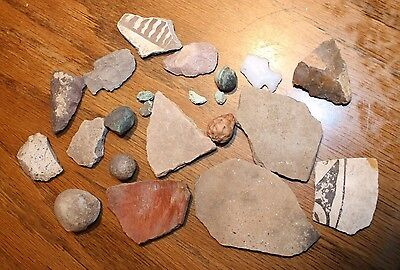 Prehistoric Pottery findings from Mangus Ranch, NM (400)