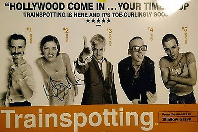 Kelly MacDonald signed Trainspotting 12x8 photo AFTAL PROOF