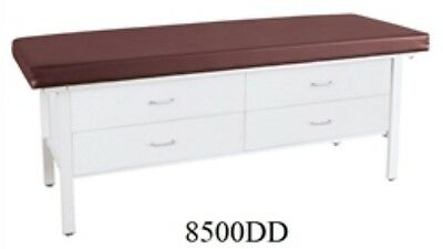 "NEW: Winco [8500-03-DD] Treatment Table (30"" Height, Taupe, Dbl Drawers) - $895"