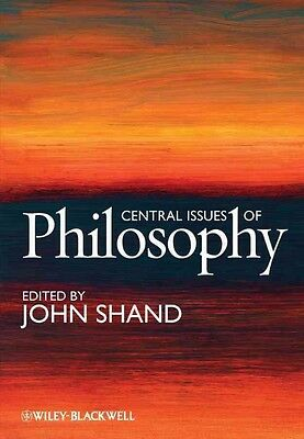 Central Issues of Philosophy by John Shand Hardcover Book (English)