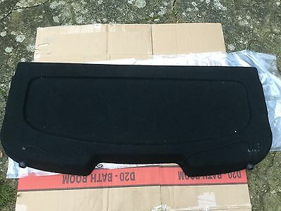 FORD FIESTA MK7 2008-2012 3 OR 5 DOOR Rear Boot Black Parcel Shelf Luggage Cover