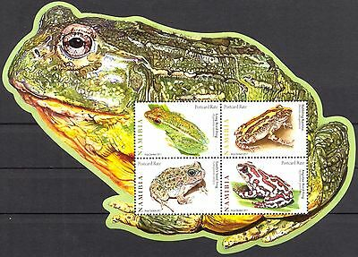 Namibia 2011 Frogs S/S of 4 MNH**