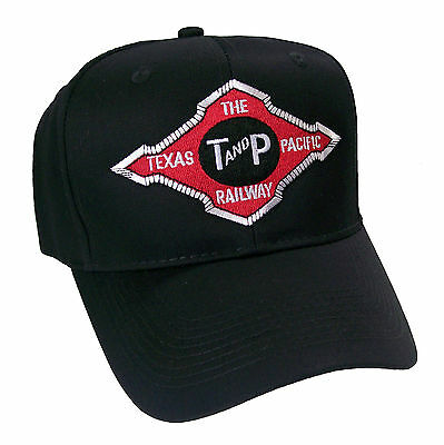 Texas & Pacific Railroad Embroidered Cap Hat #40-0069
