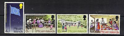 Pitcairn Island. South Pacific Commission  1972 Mnh