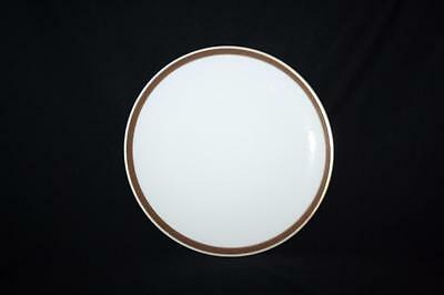 """Thomas China  Wide Brown And Gold  Band Side Plate 6.8"""" Diameter"""