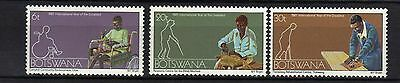Botswana. Year Of The Disabled Mnh 1981