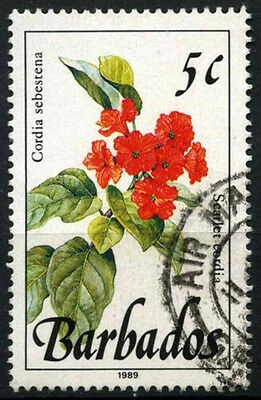 Barbados 1989-92 SG#891 5c Wild Plants Definitive 1989 Imprint Date Used #D43132