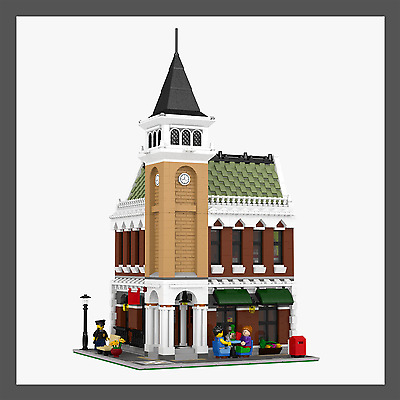 LEGO Modular Corner Pub & Loft - INSTRUCTIONS ONLY!