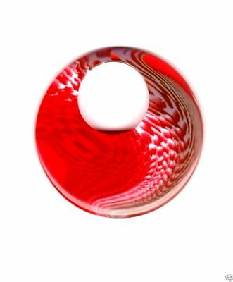 Impex Trimits Jewellery - Red Large Round Rt52
