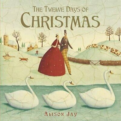 Twelve Days of Christmas by Alison Jay Book The Cheap Fast Free Post