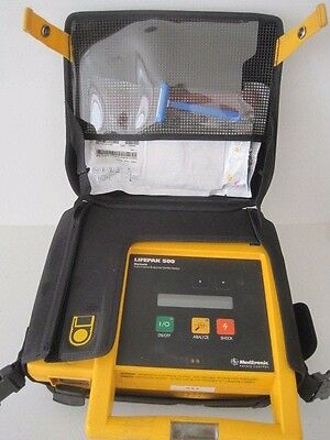 Physio Control  Lifepak 500 3D Biphasic First Responder EMT