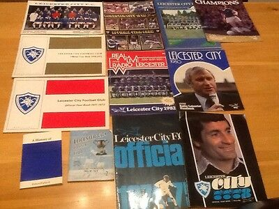 Old Leicester City Handbooks and Yearbooks