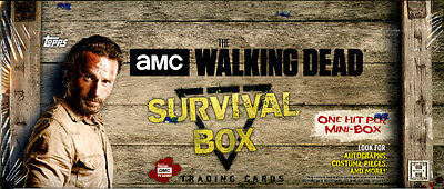 2016 Topps The Walking Dead Survival Hobby Box Trading Cards Factory Sealed New