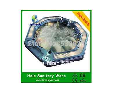 1807 Octagon massage hot tub portable hot tub with grille whirlpool