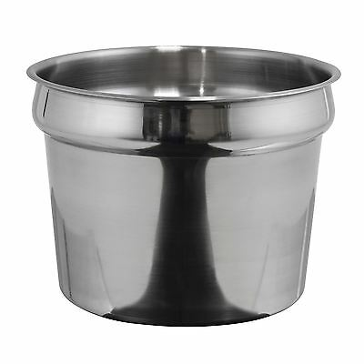 Winco INS-11.0M Inset, 11 Quart, Heavy Weight Stainless Steel