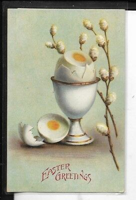 early easter greetings postcard made in germany