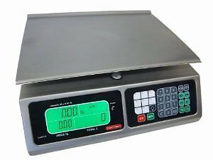 TORREY LPC40L Electronic Price Computing Scale, Rechargeable Battery, Stai...NEW