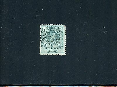 Lot 55876 Spain Unused 298 No Gum Perfin