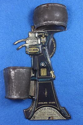DE LAVAL Separator Co. Tin Wall Mount MATCH HOLDER for Kitchen-Barn - Milk House