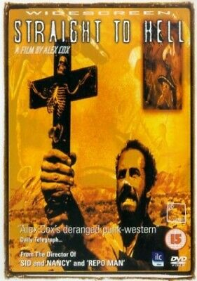 Straight To Hell [DVD] [1986] - DVD  G2VG The Cheap Fast Free Post