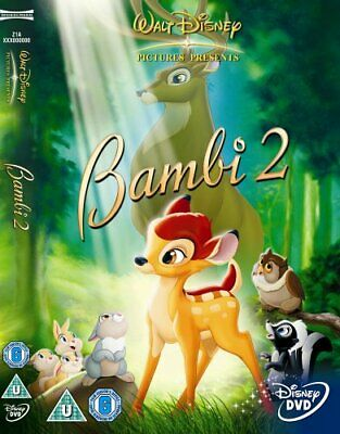 Bambi II [DVD] - DVD  2IVG The Cheap Fast Free Post