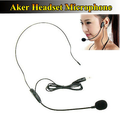 Marca Spina a Use Jack 3,5mm Aker Voice Cuffie Headset supporto Testa for AK38X