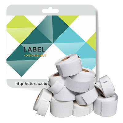 Multipack 11354 Labels Compatible for Dymo/Seiko 57 x 32mm 1000 labels per roll