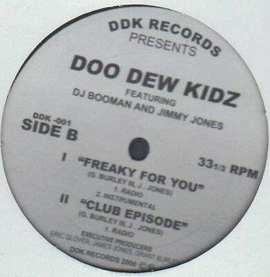 "12"" Us Breakbeat / Ghetto**doo Dew Kidz - Give It To Me (Ddk / Sealed)***10942"