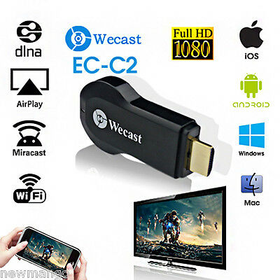 HDMI WIFI Display Récepteur Airplay Mirroring Miracast TV Dongle for IOS Android