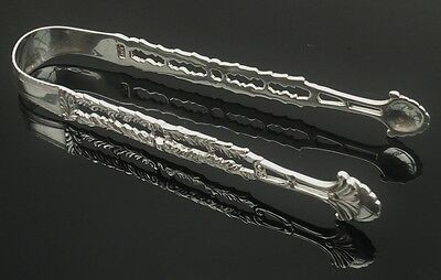 Cast Silver Sugar Tongs, 18th Century, Possibly William Cripps