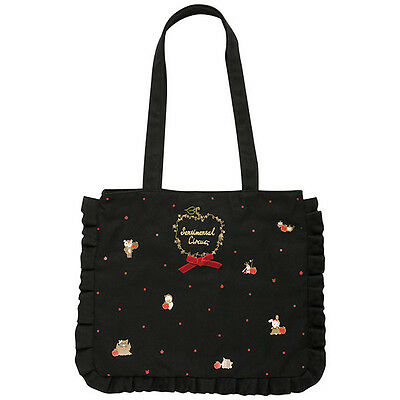 Sentimental Circus Canvas mini Tote Bag Patching Apple Snow White ❤ San-X Japan
