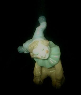 LLADRO Nao   Jester Clown   Excellent Condition