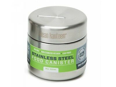 Klean Kanteen 236ml Stainless Steel Food Canister RRP £18.95