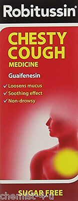 Robitussin Chesty Cough Medicine 250ml