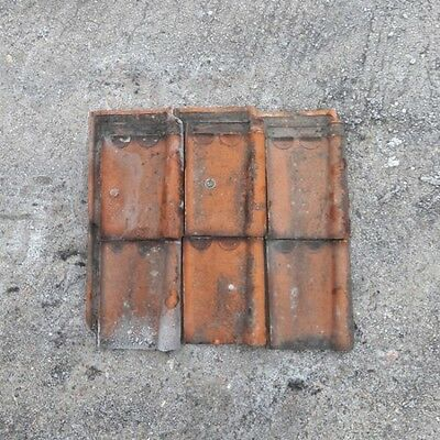 Reclaimed Clay Roof Tiles Sterreberg Courtrai Natural Red 4 00 Picclick Uk