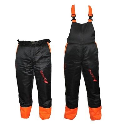 Chainsaw Safety Forestry Trousers Or Bib & Brace Ideal For Alko Users