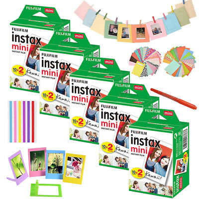 100 Sheet Fujifilm Instax Mini Film - Fuji Instant Photo 7s 8 25 50 Polaroid 300