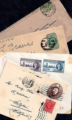 Collection of 4 covers, postal  history JB97