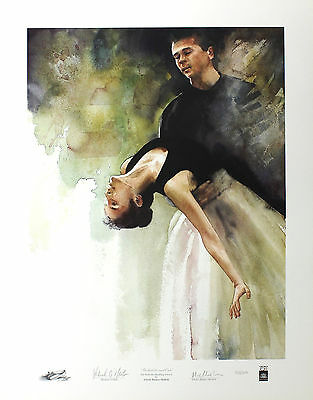 BARNES-MELLISH Bathsheba and Oak BALLET signed LTD ED! SIZE:65cm x 50cm NEW RARE