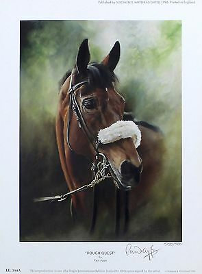 "APPS ""From Bechers to Victory"" rough quest SIGNED LTD! SIZE:47cm x 76cm NEW RARE"