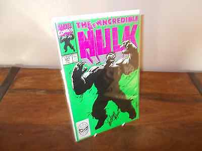 The Incredible Hulk #377 - Signed by Lou Ferrigno (TV Hulk)