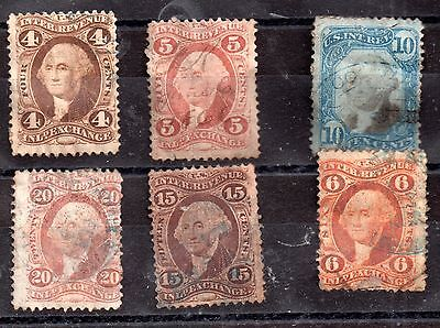 USA Internal Revenue/Exchange collection to 20c JB77