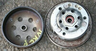 Piaggio Nrg 50 Power Dt A/c 2009 Engine Clutch Drum Bell Shoes Fast Uk Post