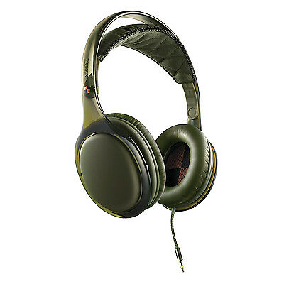 Philips O'Neill SHO9567GN The Stretch Headband DJ Over Ear Head Phones - Green
