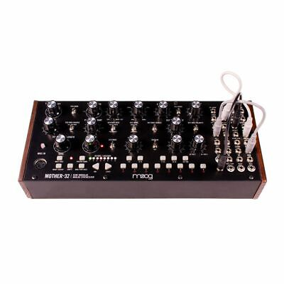 Moog Mother-32 Tabletop Semi-Modular Synthesizer Module + 5 Moog Patch Cables