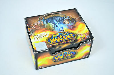 Rare -Heroes Of Azeroth Booster Box -Upper Deck /world Of Warcraft Trading Cards