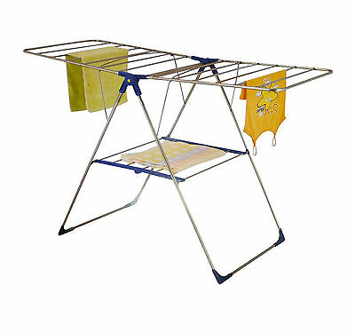 18M Folding Cloth Cloth Airer Horse Indoor Outdoor Laundry Dryer New