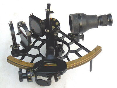 Cassens & Plath Germany Marine Ships Boat Yacht Nautical Sextant In Box